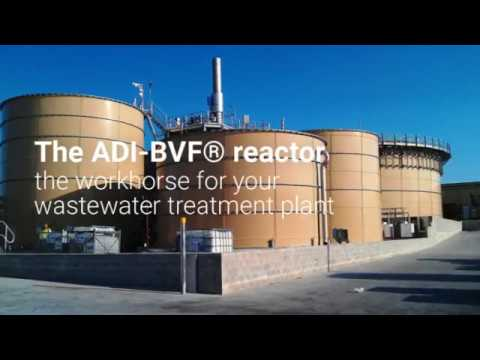 ADI-BVF® Reactor for Industrial Wastewater Treatment