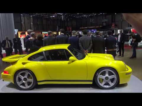4k  Ruf Automobile Press Conference CTR 2017, 710 HP and 1200 kg presented by Alois Ruf
