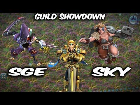 Guild Showdown SGE Vs SKY & WDG - Lords Mobile