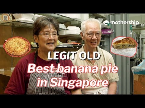 This Is The Best Banana Pie In Singapore