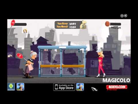 Angry Gran 2 - Box10.com game Gameplay by Magicolo 2012