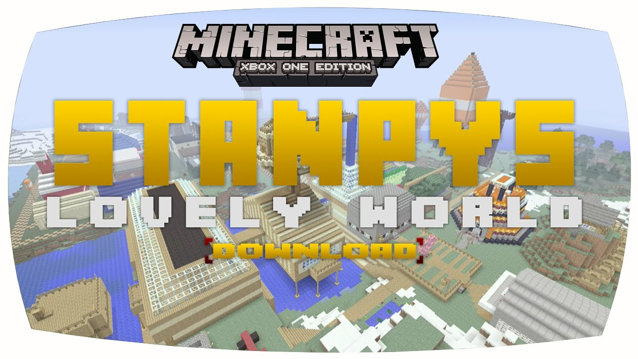 Stampy World Map.Minecraft Xbox Stampy S Lovely World Map Download Remake Youtube
