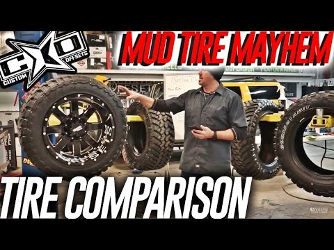Stuff I Never Knew: Mud Tire Mayhem