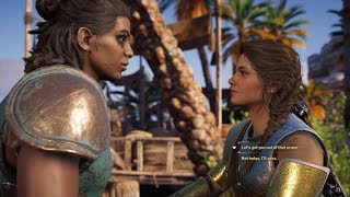 Assassin's Creed Odyssey Xenia Romance (Kassandra)