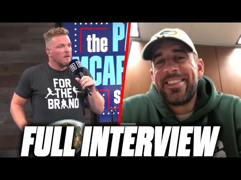 Aaron Rodgers on The Pat McAfee Show 2.0