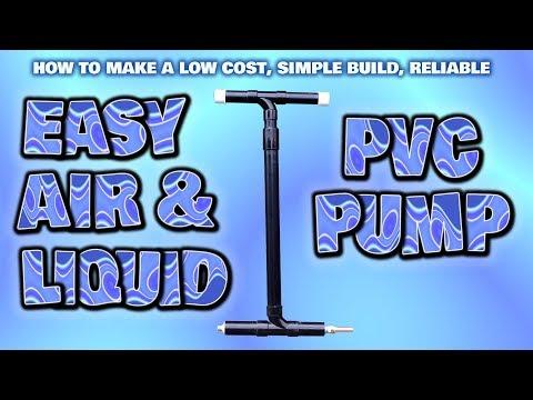 EASY build air & liquid PVC pump