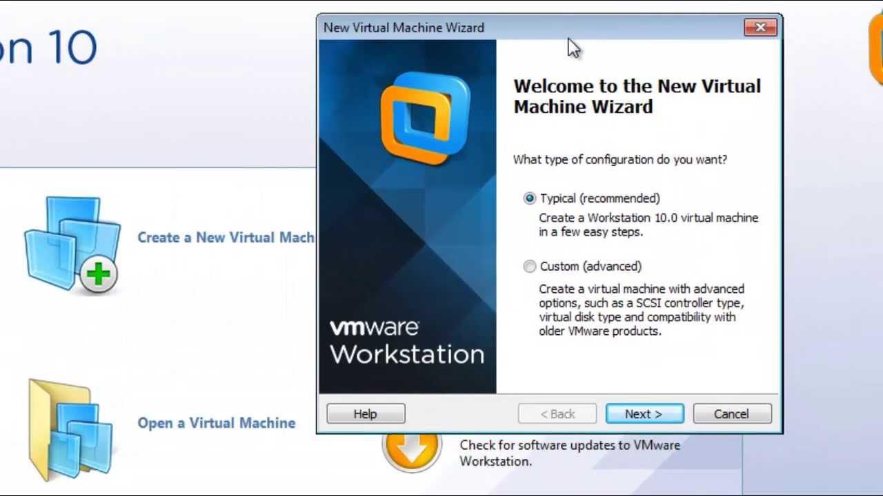 شرح برنامج VMware Workstation 10 لتثبيت وتشغيل أكثر من نظام علي جهازك في نفس الوقت