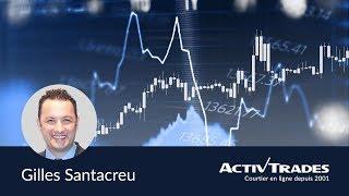 Session de Trading Live | Salle des Marchés | Gilles SANTACREU | ActivTrades