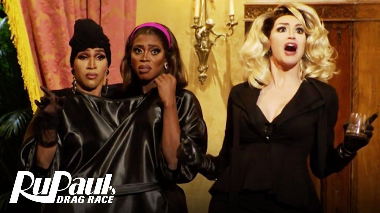 RuMerican Horror Story: Coven Girls! 🕸🌙  RuPaul's Drag Race All Stars