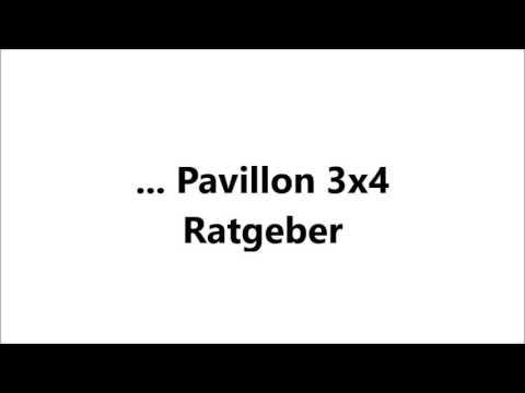 Wundervoll Pavillon 3x4 - Ratgeber, Vergleiche, Tipps - pavillon-kaufen.de  XK07