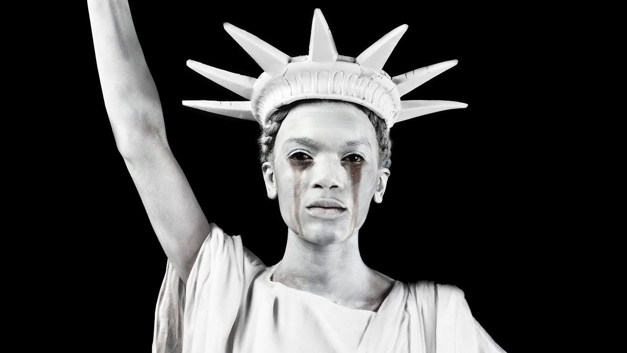 Black Statue Of Liberty By Alex Bland   YouTube