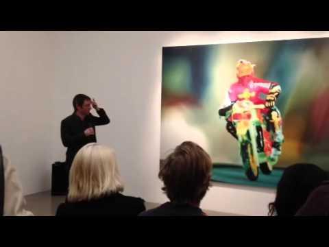 Matthew Collings interviews artist richard Patterson at Tim