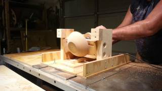 "Simple Jig! Turns A ""bowl"" On  ""tablesaw""!"