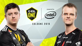 CS:GO - Astralis vs. Vitality [Inferno] Map 2 - Semi-Final - ESL One Cologne 2019
