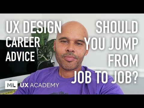 Should You Switch Jobs Often? UX Design Career Advice