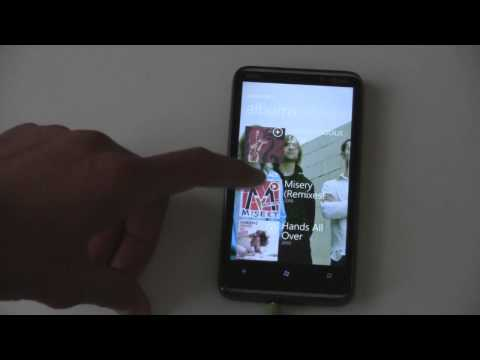 WP7 Music Hub Review (The Wingster)