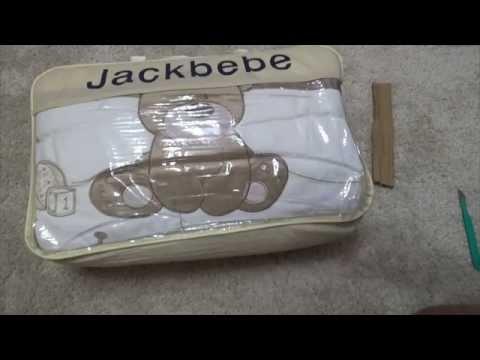 #054 Посылки с Aliexpress - Комплект постельного белья в детскую кроватку