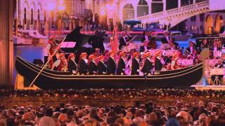 "Barcarole is song nr.17 of the album ""love in venice"" how do you get a big gondola on stage maastricht? watch this to see solution... for concert date..."