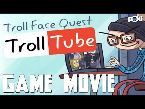 Game Movie! Troll Face Quest: Troll Tube, Poki walkthrough