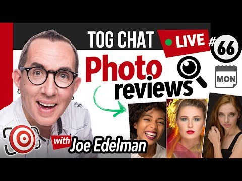 🔴 LIVE TogChat™ #66 - Is it important to know the latest fashions trends if photographing people?
