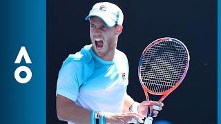 Diego Schwartzman v Dusan Lajovic match highlights (1R) | Australian Open 2018