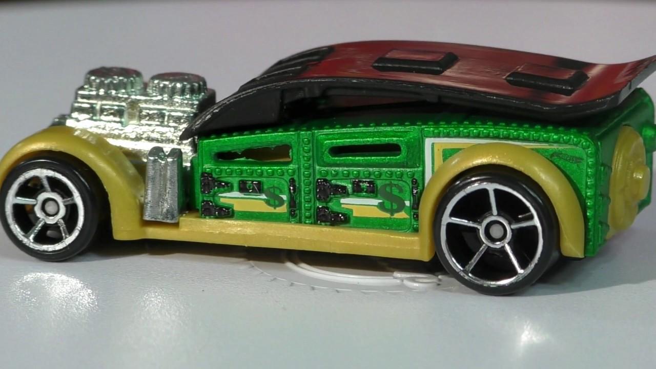2016 hot wheels n case fast cash multi use car youtube. Black Bedroom Furniture Sets. Home Design Ideas