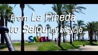 From La Pineda to Salou by bicycle
