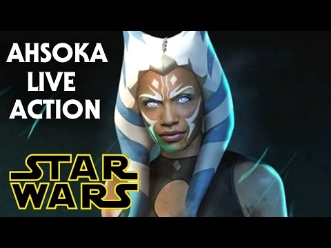 Live Action Ahsoka Tano In Future Star Wars Film! (Rosario Dawson)