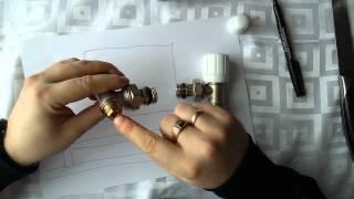 как подключить радиатор (двухтрубная система)(В этом видео я расскажу Вам как лучше подключить радиатор системы отопления на двухтрубной системе,чтобы..., 2015-03-08T12:31:13.000Z)