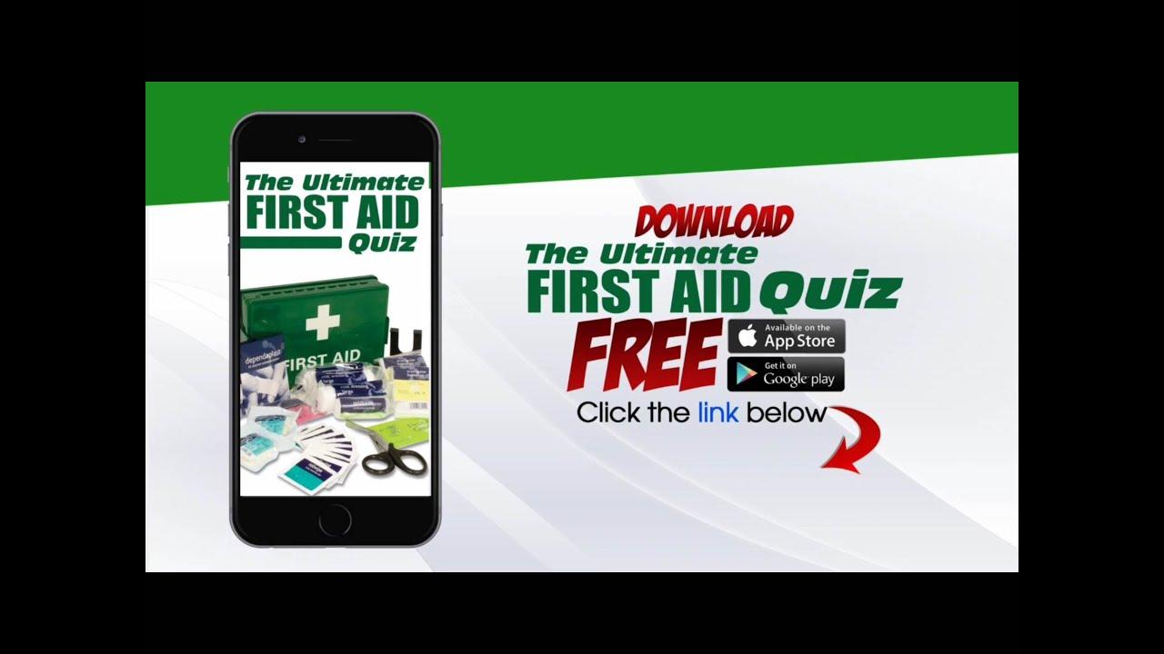 True or false quiz presents first aid trivia quiz test your true or false quiz presents first aid trivia quiz test your survival knowledge youtube xflitez Images