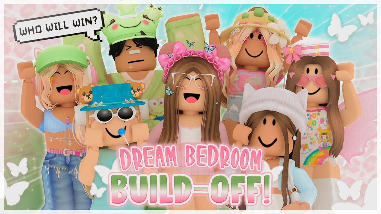 MEGA Dream Bedroom BUILD-OFF! | Bloxburg Roblox | ft. DemoCreator