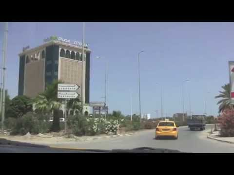 Taxi Ride from La Goulette to Carthage, Tunisia - 9th July, 2014