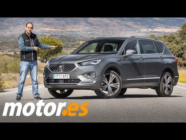 SEAT Tarraco 2019   Prueba / Testdrive / Review en español   SUV