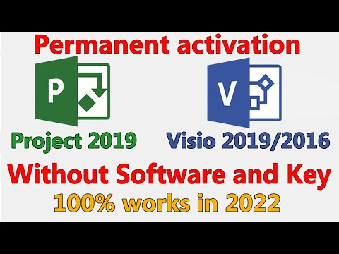 Microsoft visio 2019 activation key | How to download and activate