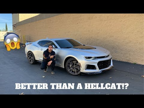 2018 Chevrolet Camaro ZL1 Review + Launch Control!