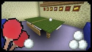 (COMO FAZER) uma mesa de ping pong no Minecraft PE #14