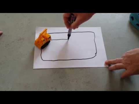 Magic Joy truck - ציור מסלול