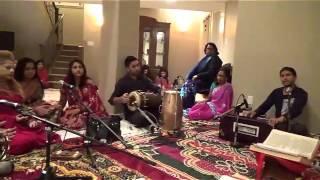 Fiji kirtan on Ganesh by Neal Rajendra - Sumiro Girjaa sangh Mahesh Nov 13 15