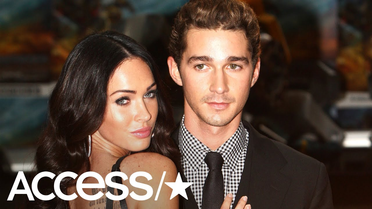 megan fox confirms she was totally romantic with shia labeouf access youtube megan fox confirms she was totally romantic with shia labeouf access
