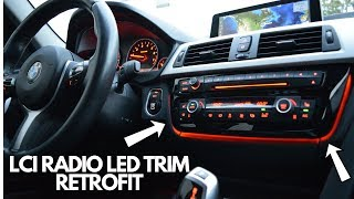 BMW F30 LCI Radio Trim Upgrade! (EASY)