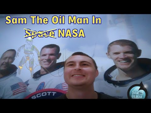 Sam the Oil Man goes to NASA