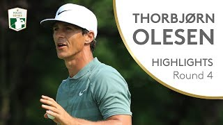 Thorbjørn Olesen Final Round Winning Highlights   2018 Italian Open