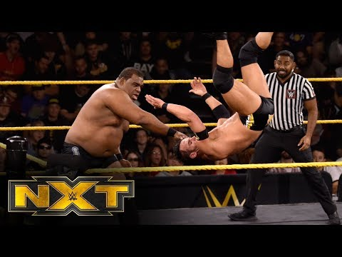 Keith Lee vs. Roderick Strong: WWE NXT, Nov. 13, 2019