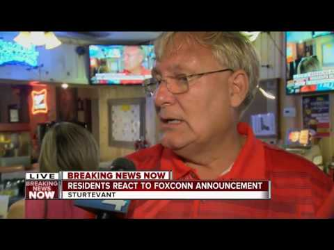 SE Wisconsin residents celebrate Foxconn announcement
