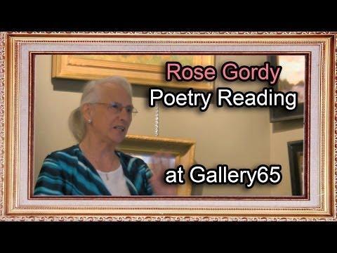 Rose Gordy Poetry Reading at Gallery 65 in McLean, VA