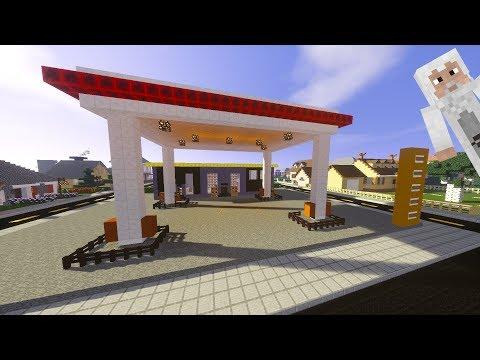 Minecraft: Benzinlik Yapımı   İç Tasarım