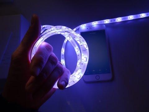 Xiaomi smart light strip led striscia led rgb 2 metri for Striscia led rgb