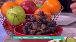 The Best Ways to Combat Hay Fever | This Morning