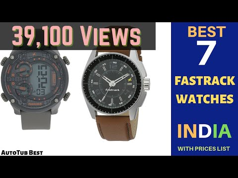 7 Best Fastrack Watches For Mens Womens In 2020 Prices List
