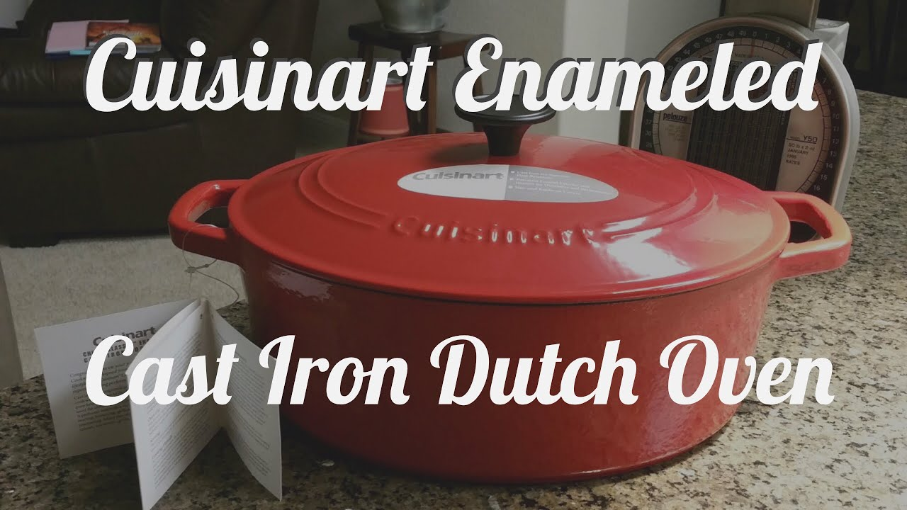Cuisinart Enameled Cast Iron Chef's Classic Oval Dutch
